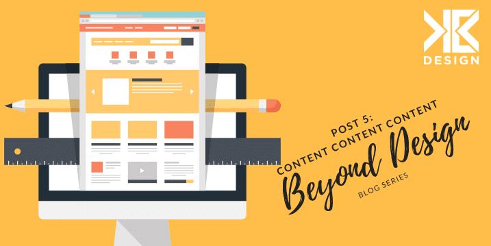 Beyond Design blog about content