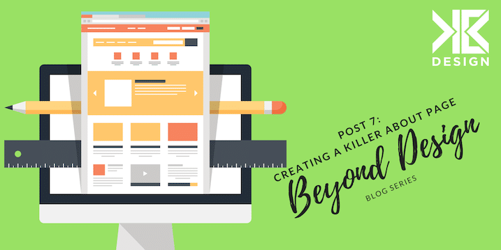 Beyond Design 7: Creating an About Page that Converts