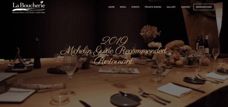la boucherie homepage