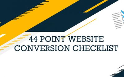 Increase Your Website Conversions with this FREE Optimization Checklist